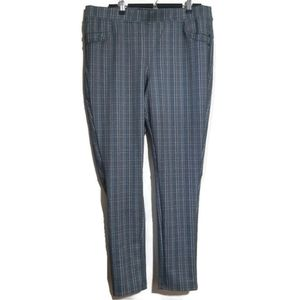 Lily Morgan | tweed look stretchy dress pants